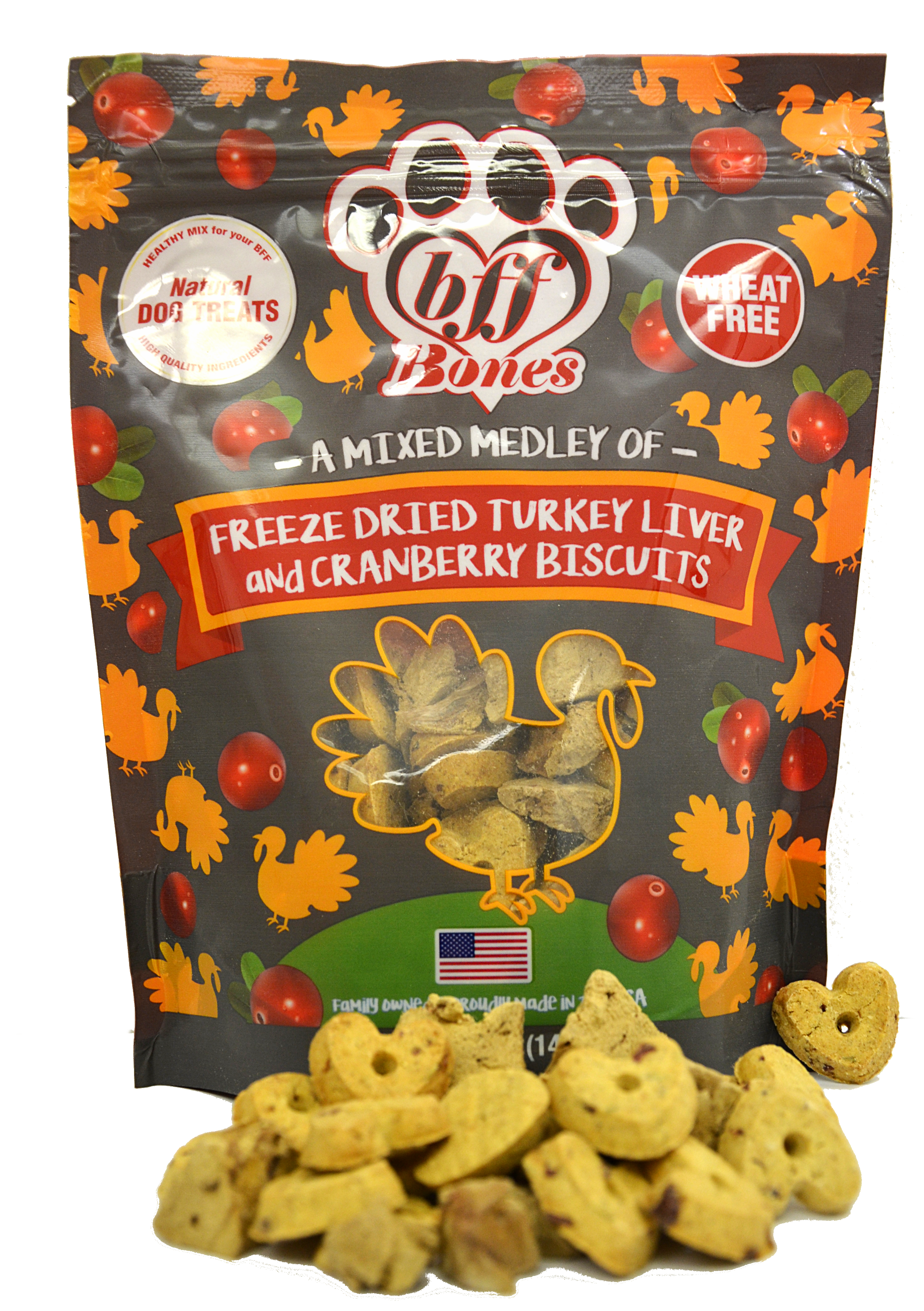 bff Bones Turkey and Cranberry Treats