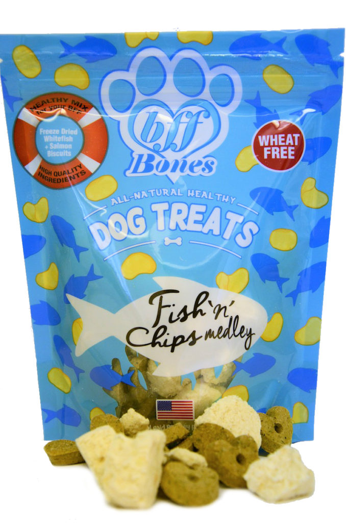 Fish n Chips Dog Treats